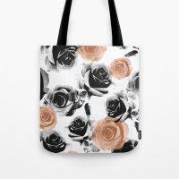 pixel rose Tote Bag