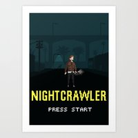 Nightcrawler - The Video Game Art Print