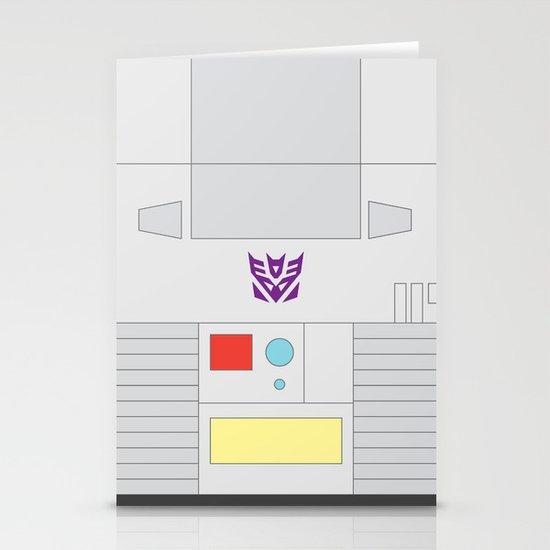 Megatron Minimalist Stationery Card