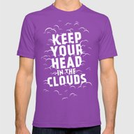 T-shirt featuring Keep Your Head In The Cl… by Zeke Tucker