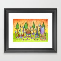 Dream Garden 1 Framed Art Print