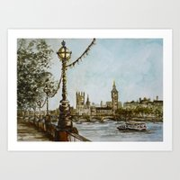 London view Art Print