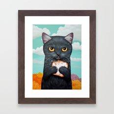 BEIGNET ALL DAY Framed Art Print