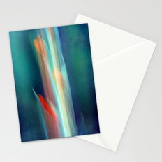 abstract Gladiolus #1 Stationery Cards