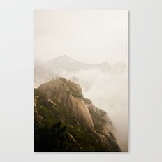 Golden Mountain Canvas Print