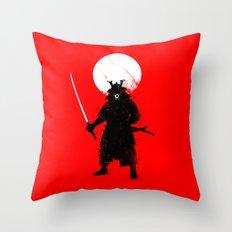 Ghost Samurai Throw Pillow