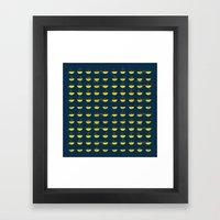 Demilune Framed Art Print