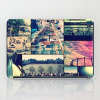 London Collage iPad Case