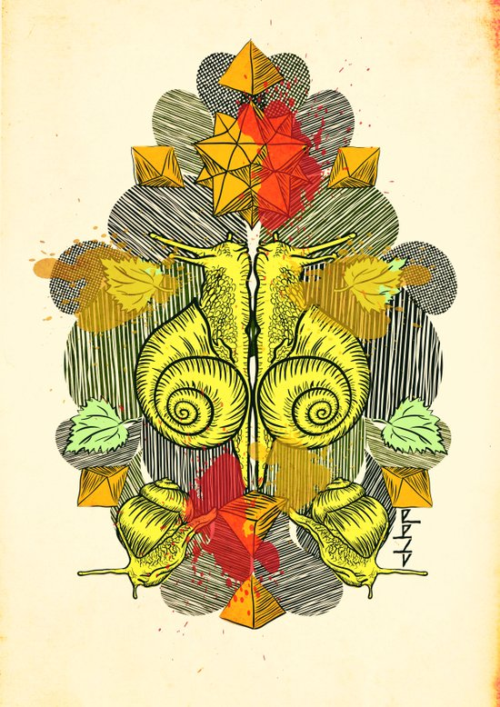 Snailkiss Canvas Print