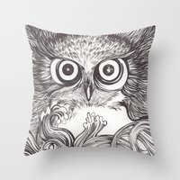 Vigilia Throw Pillow