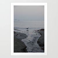 It all leads to the ocean.  Art Print