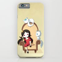 princess iPhone & iPod Cases featuring Princess by Freeminds