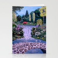 My Garden - By Ave Hurle… Stationery Cards