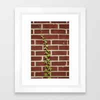 Nature and Man Framed Art Print