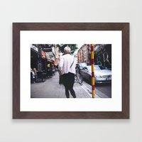 gurl Framed Art Print