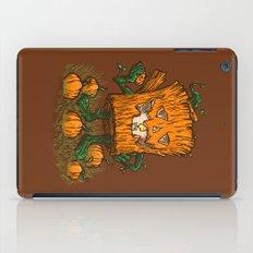 The Pumpkin Log iPad Case