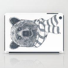 Winter Bear Drawing iPad Case