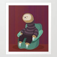 7 Deadly Sins Sloth Art Print