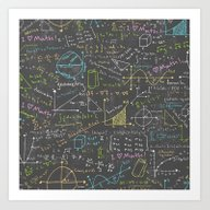 Art Print featuring Math Lessons by Robyriker