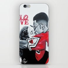 Black Love- Dwayne & Whitley iPhone & iPod Skin