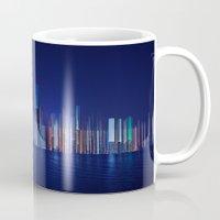 Miami Skyline Abstract Mug