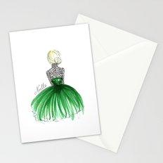 Emerald Dress Stationery Cards