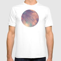 Blur//Four White Mens Fitted Tee SMALL