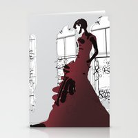 Gown Stationery Cards