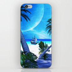 View over the ocean iPhone & iPod Skin