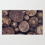 Rug featuring The Wood Holds Many Spir… by Tordis Kayma