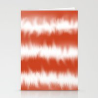 Coral Tie Dye Stationery Cards