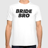 bride bro Mens Fitted Tee White SMALL
