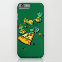 iPhone & iPod Case featuring PIzza Lover by Flying Mouse 365