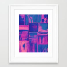 Watercolor abstract 27 Framed Art Print