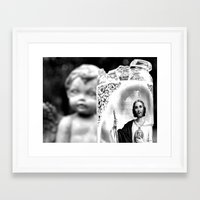 Framed Art Print featuring Remember by Vorona Photography