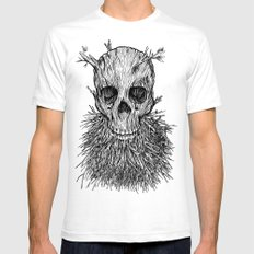 The Lumbermancer Mens Fitted Tee White SMALL