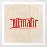 illmatic Art Print