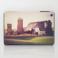 autumn barn iPad Case