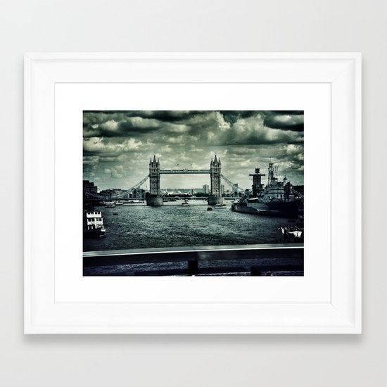London Bridge Framed Art Print
