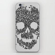 Panda is Cool (Grey) iPhone & iPod Skin