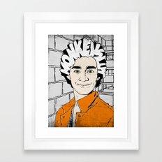 Password?? Framed Art Print
