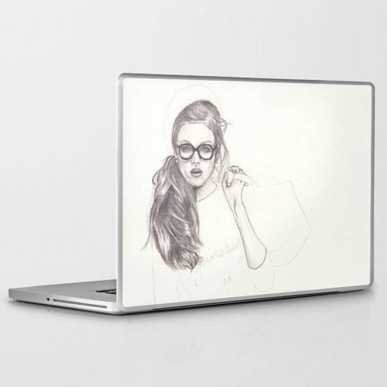 No.6 Fashion Illustration Series Laptop & iPad Skin