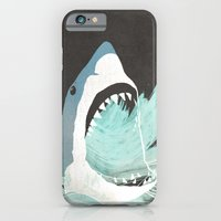 iPhone & iPod Case featuring Great White by Chase Kunz