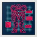 Varia Suit Canvas Print