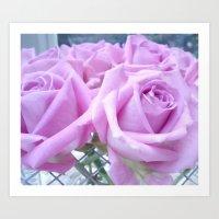 Popillo Roses 02 Art Print