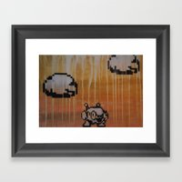 Sheep Man (megaman 10) Framed Art Print