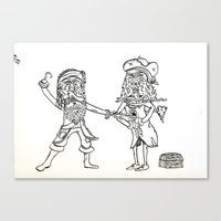 A Pirates Life Canvas Print