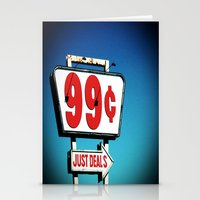99 Cents. Stationery Cards