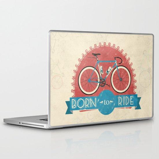 Born to Ride Laptop & iPad Skin