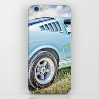 1966 Ford Mustang Fastba… iPhone & iPod Skin